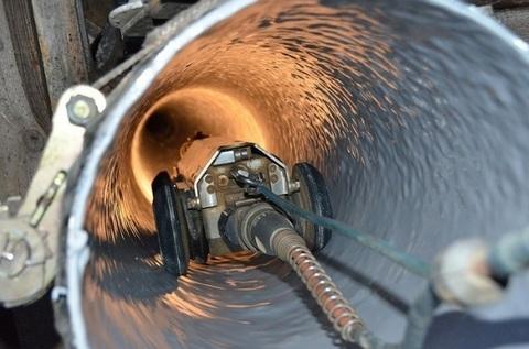 Видеообследование канализационных труб