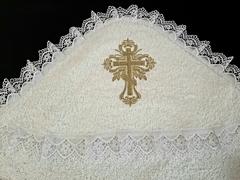 Полотенце с капюшоном Крещение-К