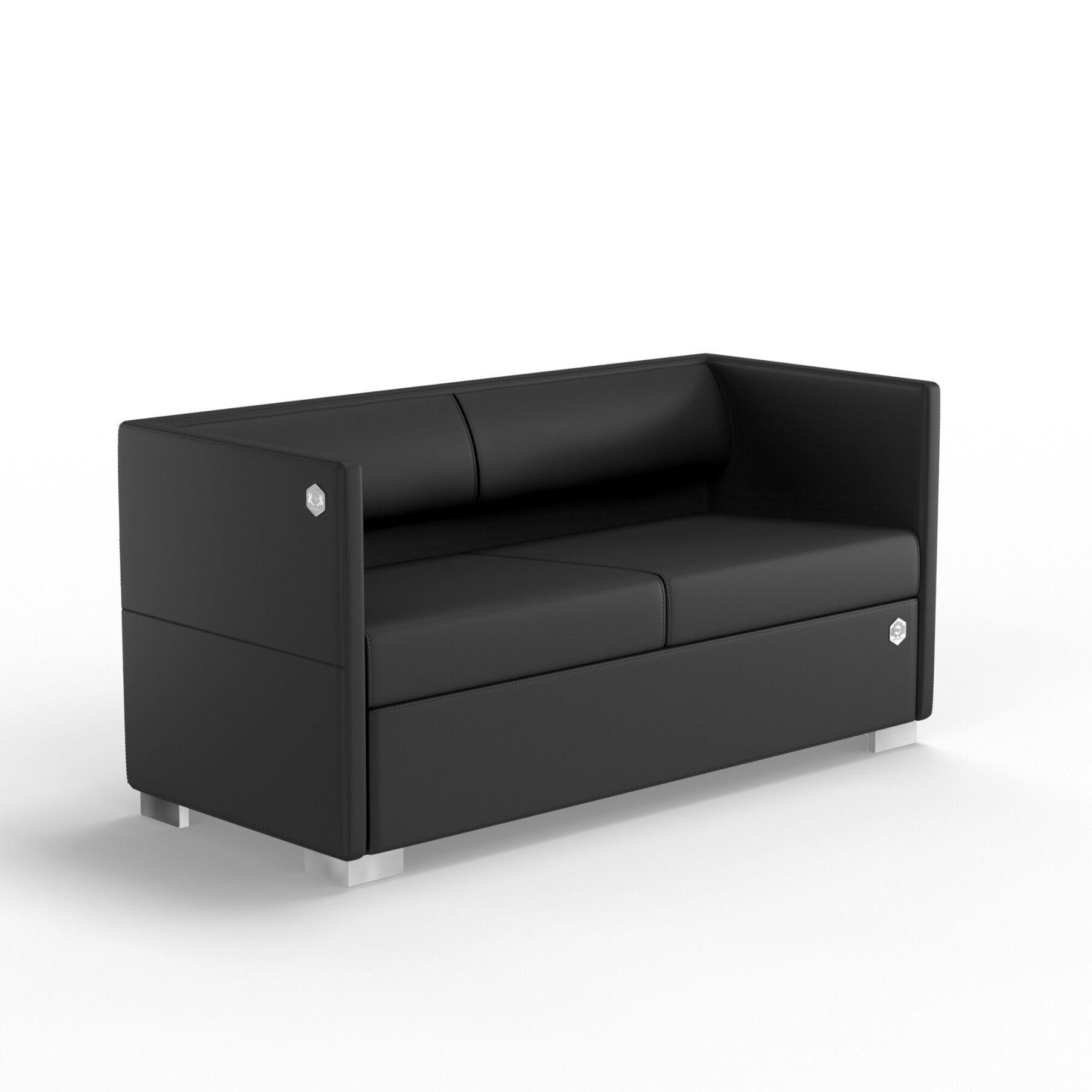 Двухместный диван KULIK SYSTEM LOUNGE Экокожа 2