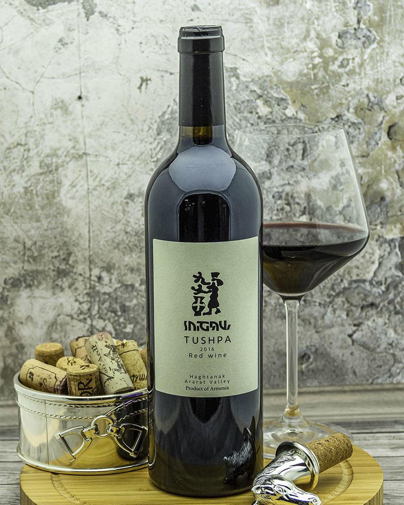 Вино Tushpa Красное Сухое 2016 г.у. 12,5% 0,75 л.