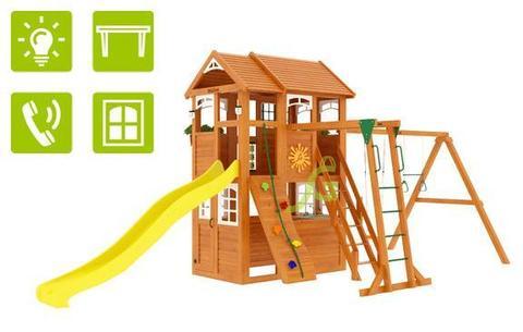 Детская площадка Клубный домик 2 с рукоходом Luxe