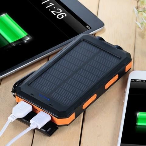 Внешний аккумулятор на солнечной батарее Solar Charger 35000 mAh
