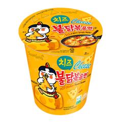 Лапша быстрого приготовления Samyang Hot Chicken со вкусом курицы и сыра 70 гр