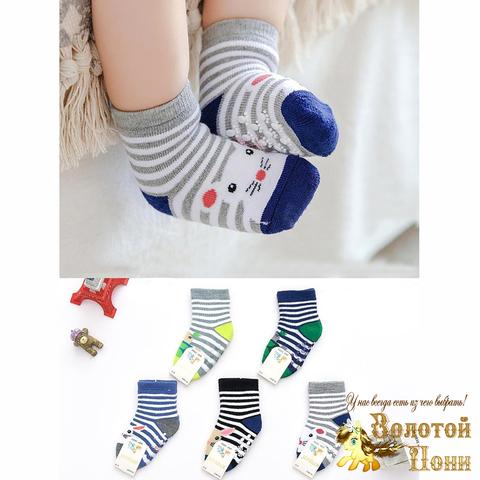 Носки махровые малышу (0-18) 210908-НС6832