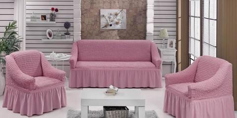 Набор чехлов на трехместный диван и два кресла Pamela