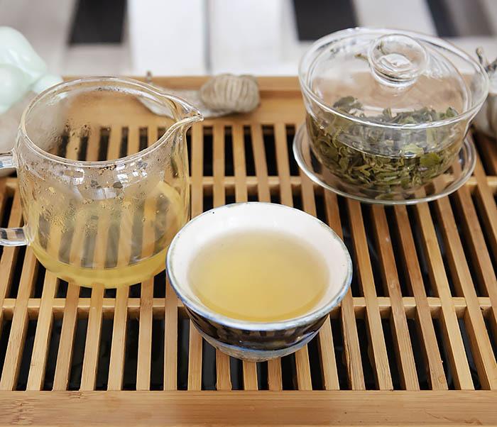 TEA-CH105 Зеленый китайский чай «Облачный Туман» ( Юнь У, 50 гр) фото 13