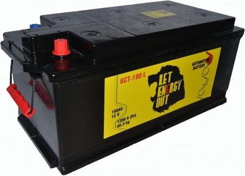 Let Energy Out 6CT-190 рос. полярность