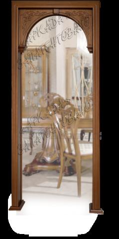 Арка Александрия (резная, декоративная) ультрашпон 40 (орех), фабрика Аркада