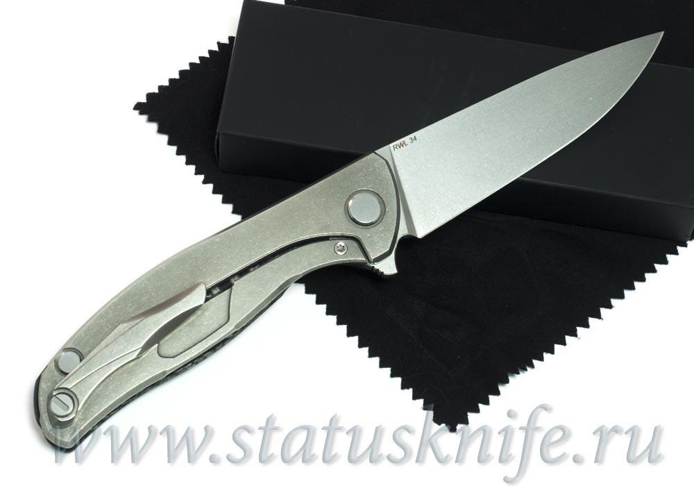 Нож Широгоров Хати RWL 34 Карбон - фотография