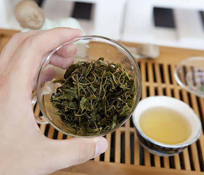 TEA-CH105 Зеленый китайский чай «Облачный Туман» ( Юнь У, 50 гр) фото 14