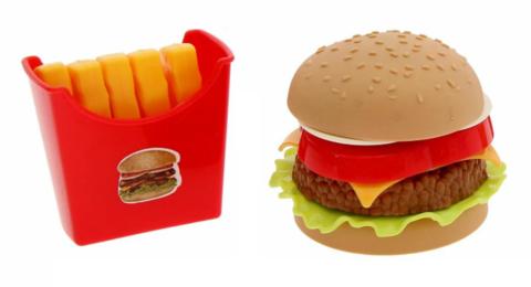 Игровой Набор Макдональдс - Бургер + Картошка Фри