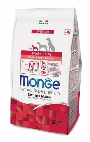 купить Monge Dog Mini корм для щенков мелких пород