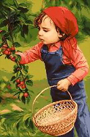 G-627 Мальчик с черешнями