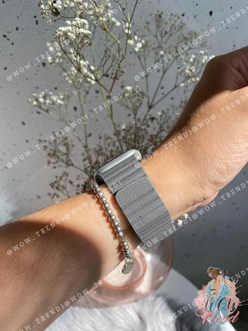 Ремешок Apple watch 42/44mm Leather Loop /charcoal gray/