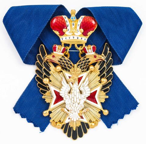 Орден Белого орла уменьшенный, для ношения на шее (копия)