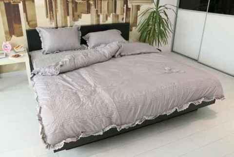 Комплект постельного белья GOCHU Verdi set K серый