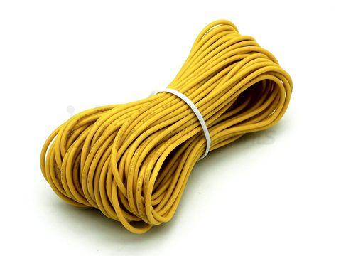 Провод монтажный (желтый)