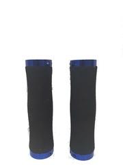 Грипсы HW 145210 L-135 (чёрный/синий)