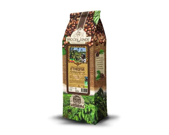 Кофе в зернах Broceliande Ethiopia Organic