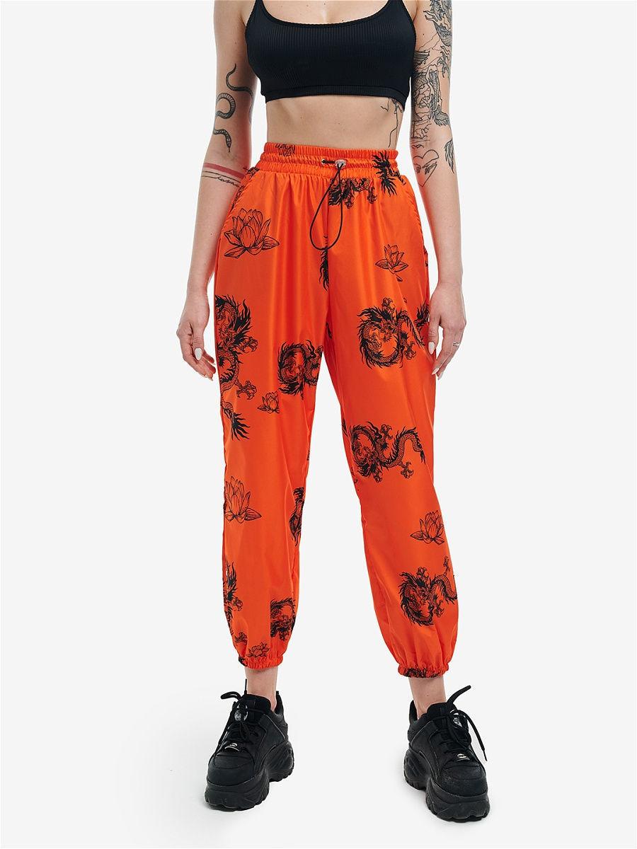 Штаны Feelz Dragon, Оранжевый