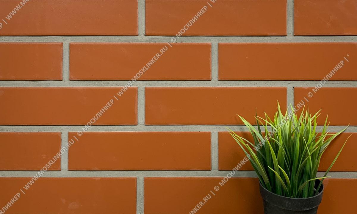 Paradyz - Plain / Natural Rosa, гладкая, 24,5х6,5 - Клинкерная плитка для фасада и внутренней отделки