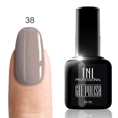 TNL Classic TNL, Гель-лак № 038 - маренго-клер (светло-серый)(10 мл) 38.jpg