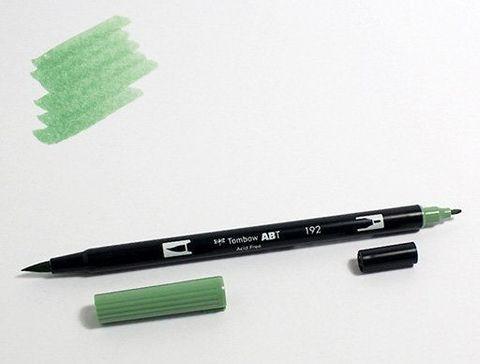 Маркер-кисть Tombow ABT Dual Brush Pen-192, спаржа
