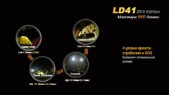 Карманный фонарь Fenix LD41 (2015) CREE XM-L2 (U2)