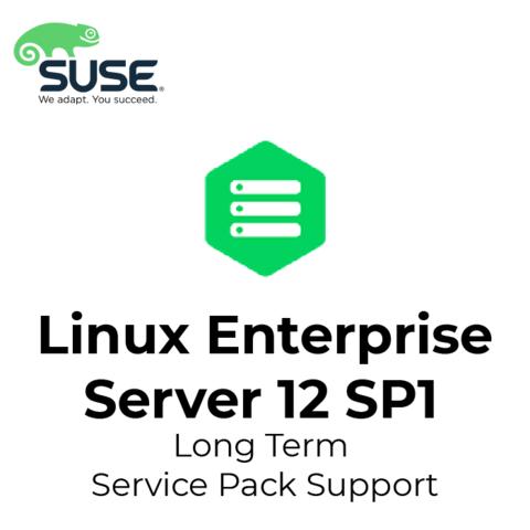 SUSE Linux Enterprise Server 12 SP1 Long Term Service Pack Support