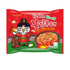 Острая лапша быстрого приготовления Samyang Hot Chicken Kimchi Ramen со вкусом курицы и кимчи 135 гр
