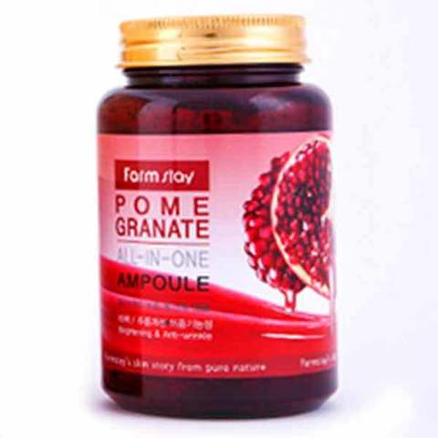 Антивозрастная увлажняющая ампула с экстрактом граната Farm Stay Pomegranate All-in-one Ampoule 250ml