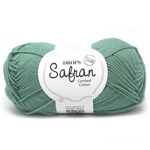 Пряжа Drops Safran 04 зеленый шалфей