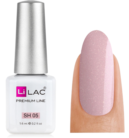 LiLAC Shine Collection 5,6 ml, №SH05 - Rose Agate