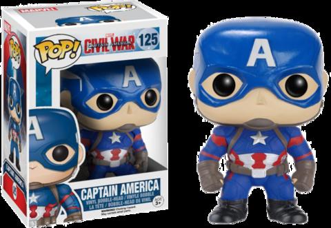 Фигурка Funko Pop! Marvel: Captain America: Civil War - Captain America