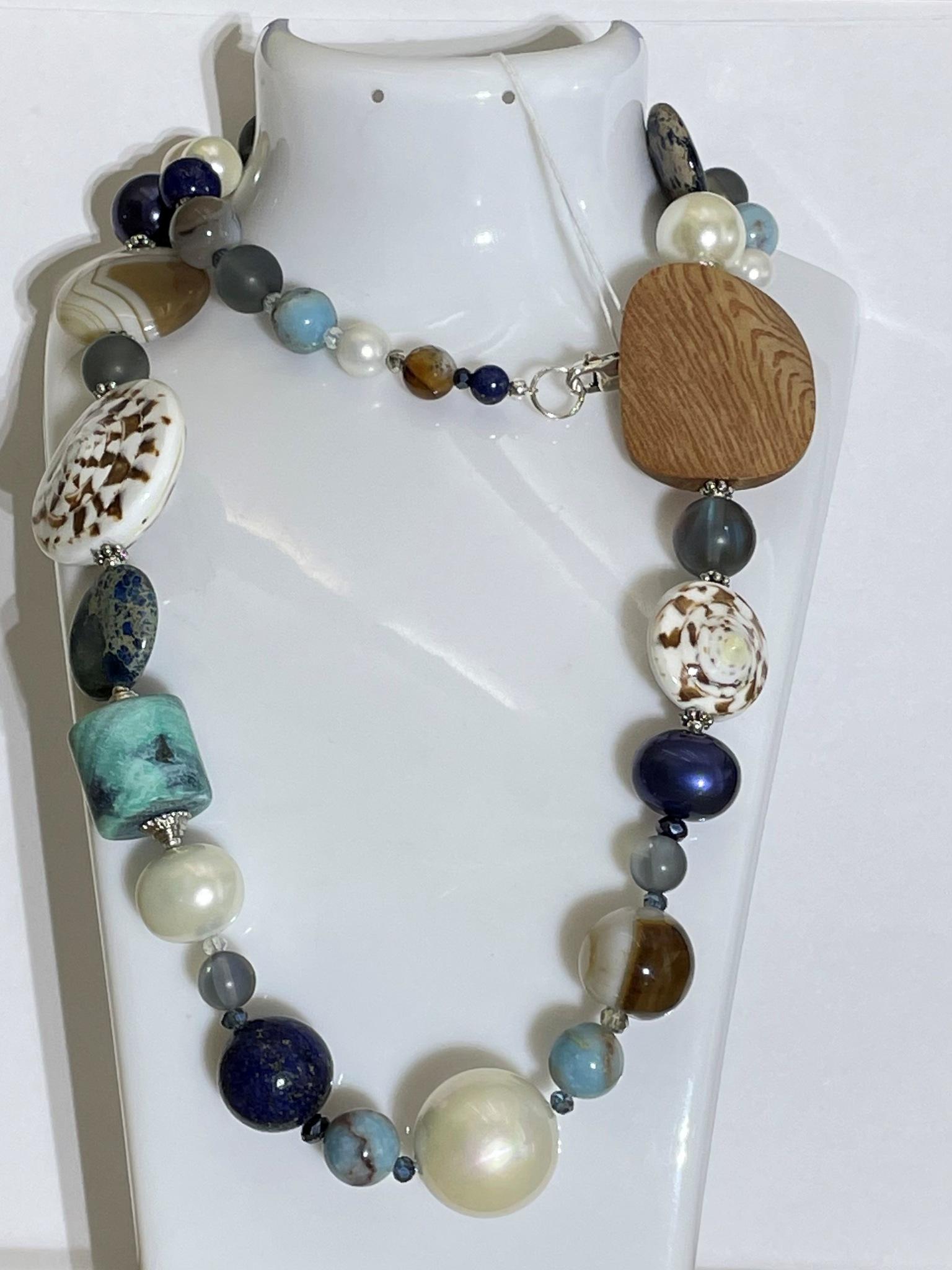 810-яшма (бусы из натуральных камней)