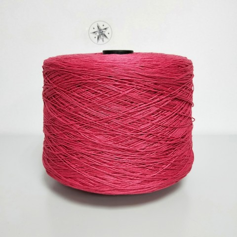 E.Miroglio, Corda, Лён 100% Красно-фиолетовый, 320 м в 100 г
