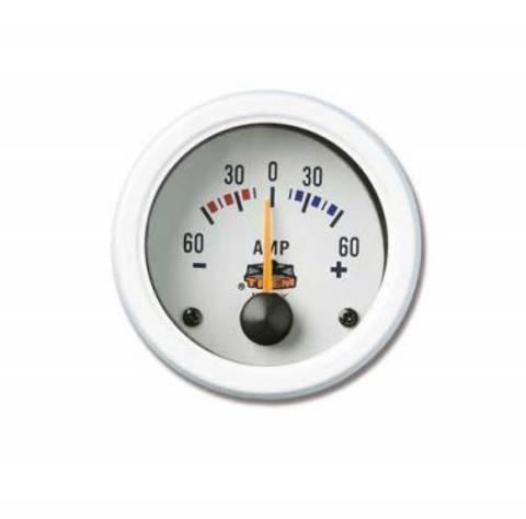 Амперметр аналоговый белый 57mm