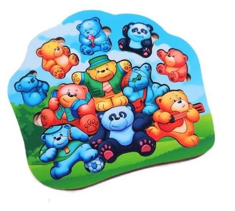 Пазл Мишки-малышки, ToySib