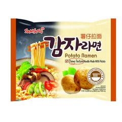 Картофельная лапша  Samyang Potato Ramen быстрого приготовления 120 гр