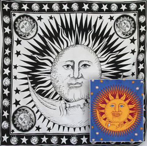 Покрывало Пять Солнц и Месяц