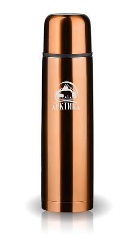 Термос Арктика (0,75 литра) с узким горлом классический, кофейный