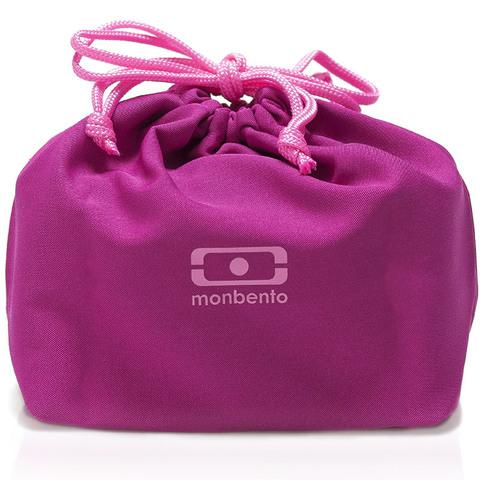 Мешочек для ланча Monbento Pochette color, малиновый