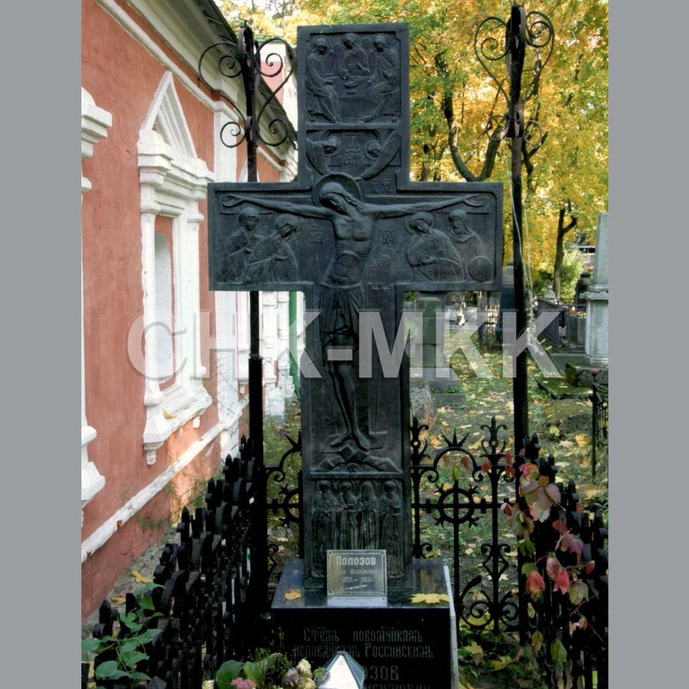 Гранитный крест №5