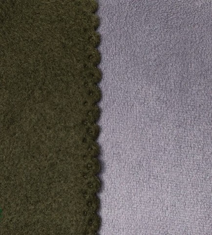 Плед флисовый Dark Green 150*180 см
