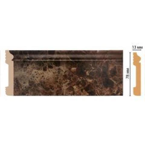 Напольный плинтус D005-713 (80*13*2400)