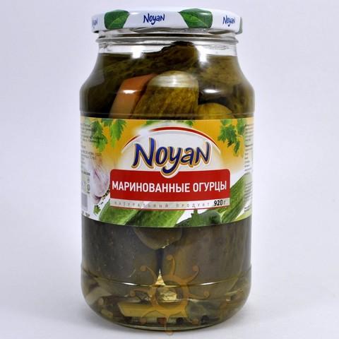 Огурцы маринованные пикантные Noyan, 920г