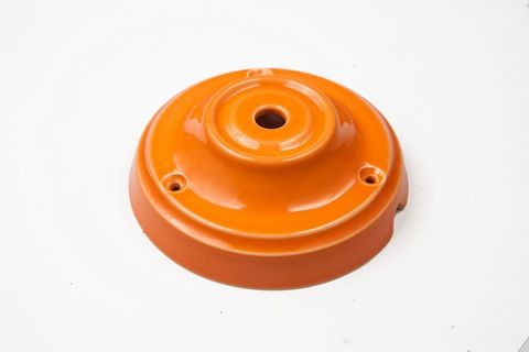 Чашка потолочная керамическая 1 вывод (Оранжевый)