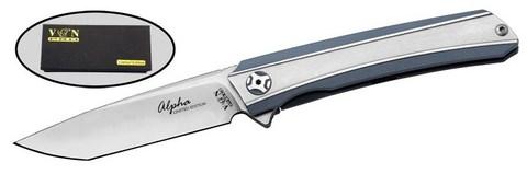 Складной нож VN PRO Alpha K282LE-2, Титан, Limited Edition