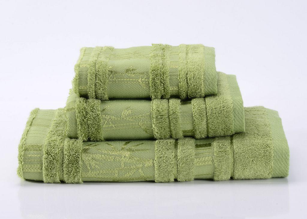 Полотенца Bamboo CL-6  зеленое бамбуковое махровое  полотенце Valtery 19692_bamboo-cl-6-polotentse-bannoe.jpg
