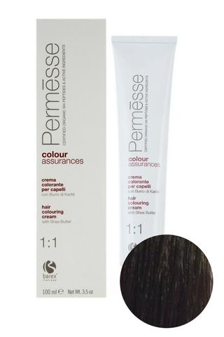 Крем-краска для волос 5.8 Крем и шоколад Permesse, Barex